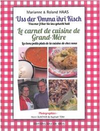 Le carnet de cuisine de grand-mère de Marianne Haas