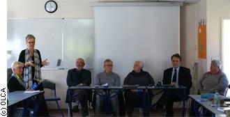 Lancement de lexique francais-alsacien de la medecine à l'IFSI