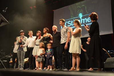 Les finalistes du concours Stimme sur scène