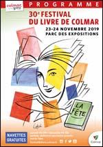 affiche salon du livre Colmar 2019