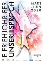 affiche e Friehjohr fer unseri Sproch 2020
