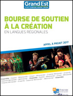 Appel à projets : bourse à la création en langue et culture régionales 2017