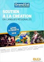 appel à projets langues régionales 2019