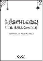 bricolages en alsacien pour Halloween