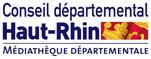 logo Médiathèque départementale du Haut-Rhin