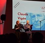 spectacle Claude Vigée aux Bibliothèques Idéales