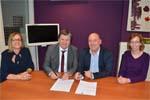 signature de la convention entre l'OLCA et Sarreguemines Confluences
