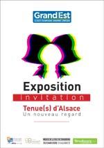 invitation exposition costume alsacien