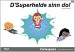 cahier d'activités en alsacien sur le thème des super-héros