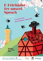 affiche Friehjohr 2021 à Sélestat