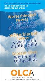 lexique français-alsacien de la météo et de la qualité de l'air