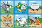 Loto des animaux en alsacien