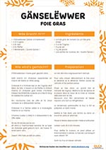 recette du foie gras en alsacien