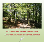 sentier des poètes alsaciens de Munster