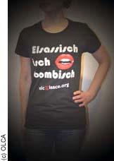 """T-shirt """"Elsassisch ìsch bombisch"""""""